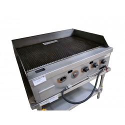 煤氣座檯平板坑扒爐(安全掣)