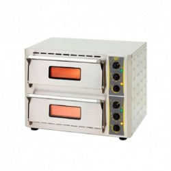 DOUBLE DECK PIZZA OVEN (1 PHASE)